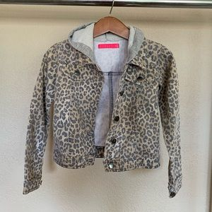 Other - Girls cheetah print jacket